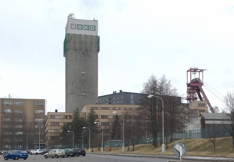 Důl Darkov, budova OKD.