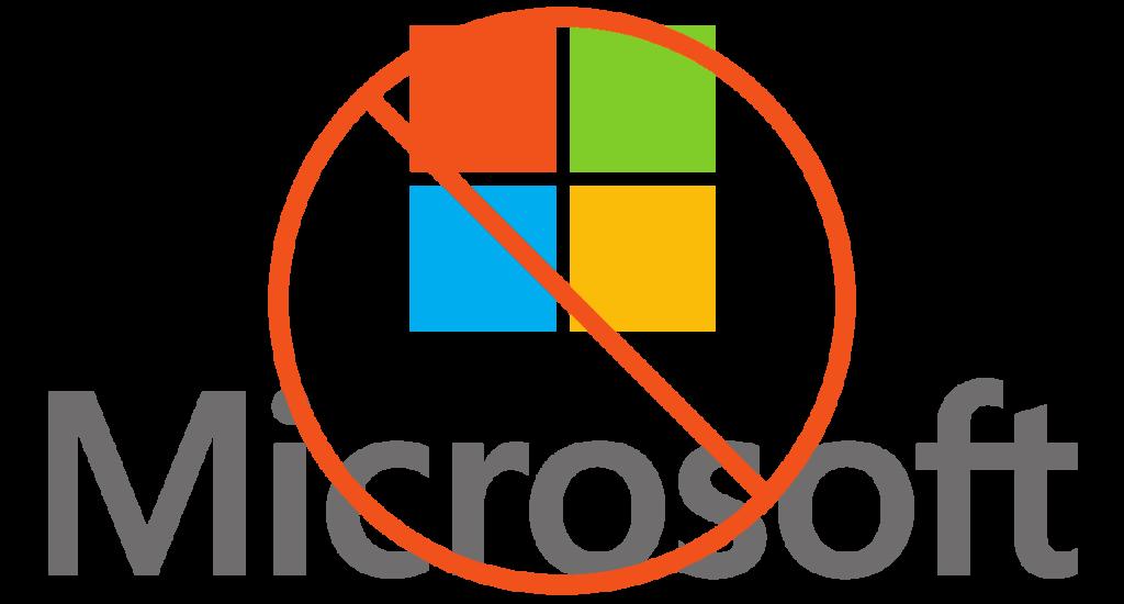 Stop Microsoft
